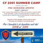 """DOPO IL GRANDE SUCCESSO DELLO SCORSO ANNO, TORNA IL """"SUMMER CAMP ROSSOBLÙ"""""""